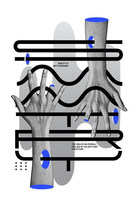 Joseph Navarro - SYMMETRY Typeface - étapes: