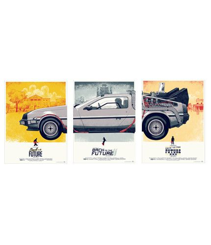 Back to the Future Trilogy Set – Mondo