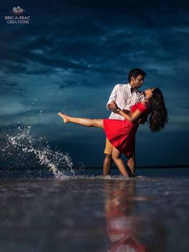 Realistic Background With Images Pre Wedding Photoshoot