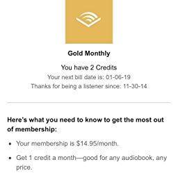 Amazon Com Audible Membership Audible Audiobooks Audio Books
