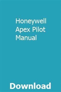 Honeywell Apex Pilot Manual Repair Manuals Halloween Party Flyer Flyer Template