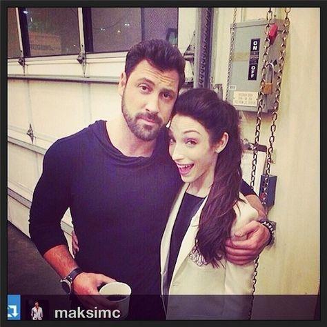 Meryl davis i maksim chmerkovskiy are one dating