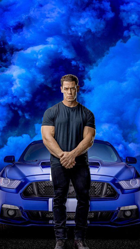 John Cena, Fast and Furious 9, 2020, 2160x3840 wallpaper