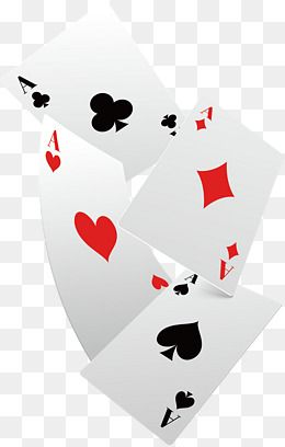 Falling Poker Cards Vector Png Playing Cards Playing Poker Png
