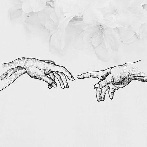 The Creation of Adam, #Tattoo #Thumb #Sketch #Mammal Image, Idea, Font - Photo b...