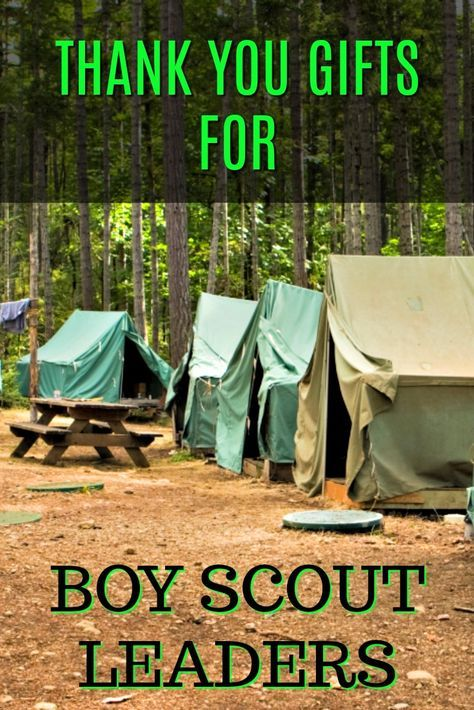Thank you gifts for boy scout leaders | Boy Scouts Thank Yous | Leadership thank yous | Presents for Scout Volunteers