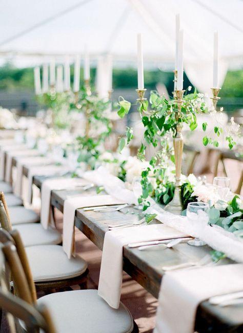 40 Trendy Wedding Table Settings No Plates Wedding Napkins Rustic Wedding Reception Dinner Wedding Food Table