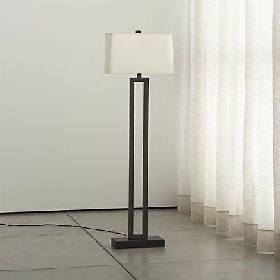 Sylvan Modern Bronze Table Lamp Reviews Crate And Barrel Bronze Floor Lamp Floor Lamp Silver Floor Lamp