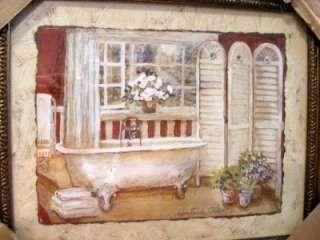 Bathroom Borders For Walls | Victorian Clawfoot Bathtub Bathroom Wallpaper  Border WT4231B