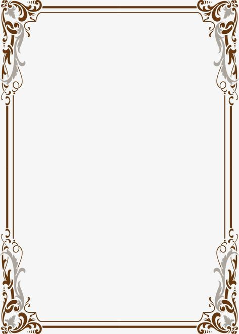 Wind Pattern Border Frame Lace Vector Classical Png Transparent Clipart Image And Psd File For Free Download Clip Art Frames Borders Frame Border Design Page Borders Design