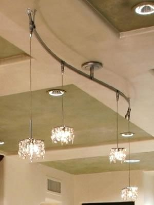 Elegant Pendant Track Lighting Photographs Lovely