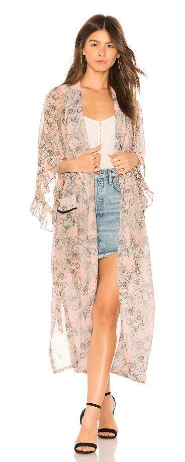 aa259faa MISA Amina Kimono | Coats | Kimono, Clothes for women, Kimono top