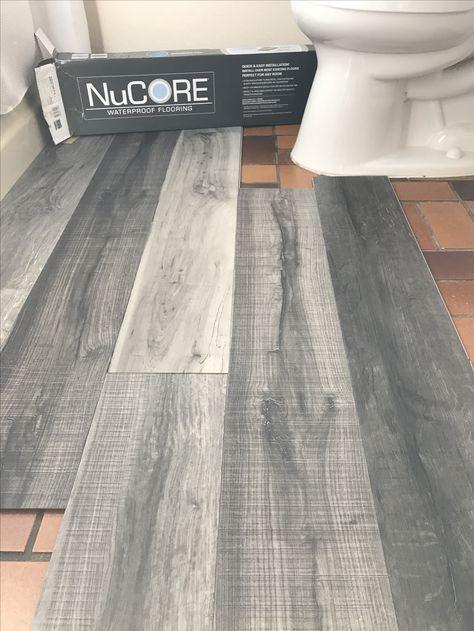 Basement Bathroom Remodel, Vinyl Plank Flooring Basement Bathroom