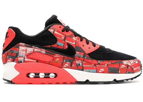 2e59fa12 Check out the Air Max 90 Atmos We Love Nike (Bright Crimson) available on  StockX