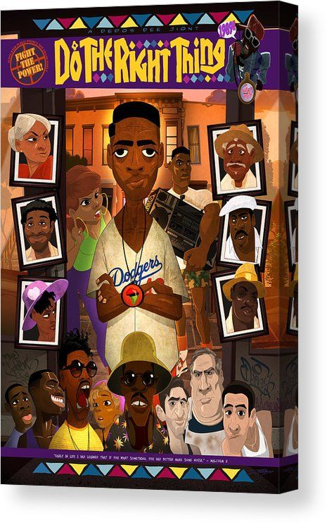 Do the Right Thing Canvas Print