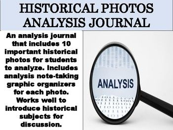 Historical Photos Analysis Journal Historical Photos Graphic