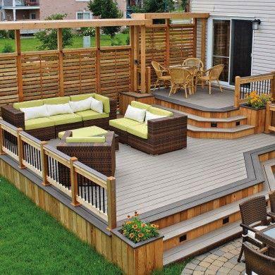 15 Great Ideas For Decks Patio Deck Designs Outdoor Patio Decor Patio Design