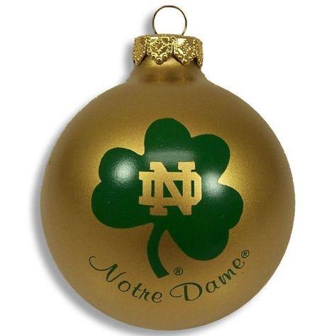 Notre Dame Football Christmas Ornament | Notre Dame!! <3 ...