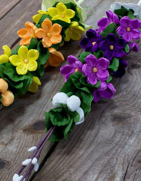 Tradycyjne Wielkanocne Palemki Z Kolorowej Bibuly Paper Flowers Paper Crafts Diy Kids Diy Flowers