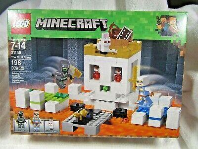 LEGO Minecraft The Skull Arena 21145 Building Kit 198 Piece