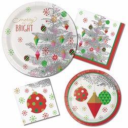 Bright Christmas Tree Party Supplies Christmas Tree Napkins Classroom Christmas Decorations Dyi Christmas Decorations