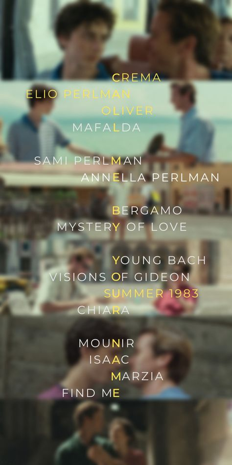 Call Me By Your Name Wallpaper Cmbyn Summer 1983 Somewhere In Northern Italy Crema