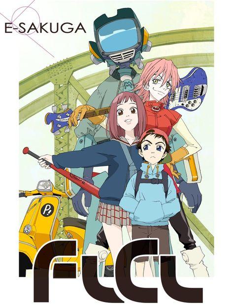 Anime : E-SAKUGA FLCL
