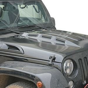 Safaripal Heat Reduction Hood Revenge Style For Jeep Wrangler Jk