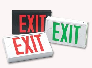 Emergency Exit Signs Big Beam Exit Sign Emergency Exit Signs Emergency Lighting