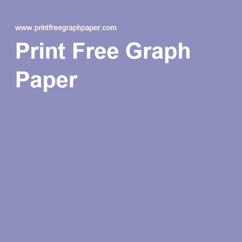 Print Free Graph Paper prints Pinterest Graph paper - free isometric paper