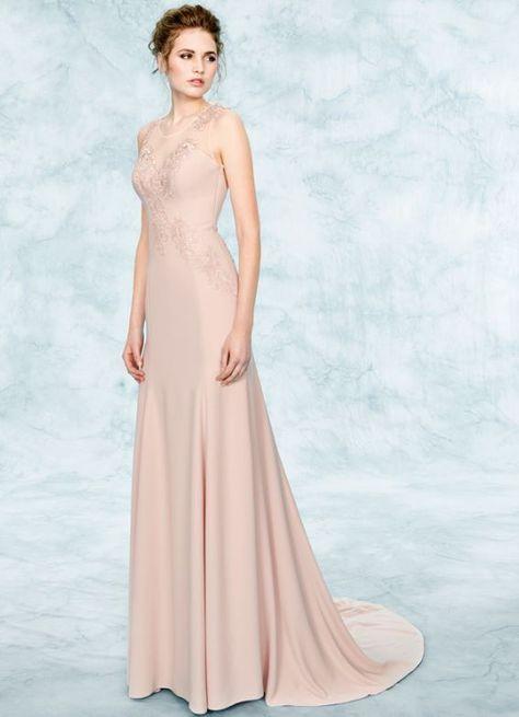 Vestiti Da Sposa Rosa Antico.Tattoo Dress Abito Da Sposa Pignatelli 2017 Mod Diana Colore Rosa