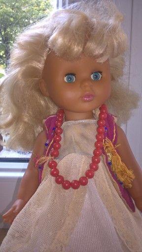 Stara Lalka Z Okresu Prl U 7566873487 Oficjalne Archiwum Allegro Vintage Dolls Dolls Crochet Necklace