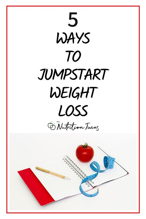 5 Ways to Jumpstart Weight Loss. For best results from your flat stomach workout plan and your weight loss meals follow these tips to boost metabolism. #metabolism #flatbelly #weightloss For MORE RECIPES, fitness  nutrition tips please SIGN UP for our FREE NEWSLETTER www.NutritionTwins.com