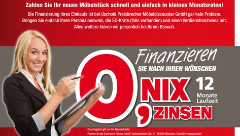Romantische Finanzierung Mega Möbel In Schwandorf Weiden Neue