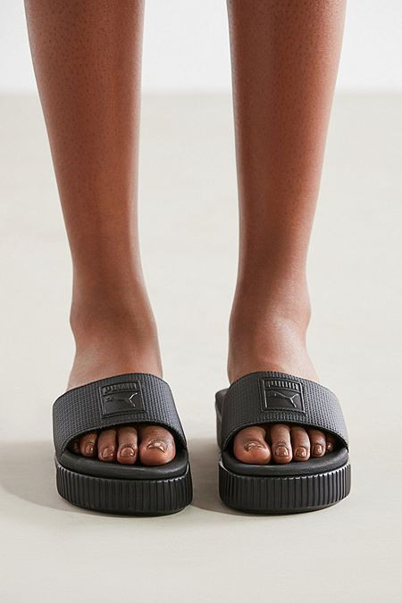 Puma Platform Slide | Womens sandals wedges, Womens sandals ...