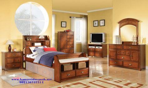 kamar set anak jati minimalis (dengan gambar)   set kamar