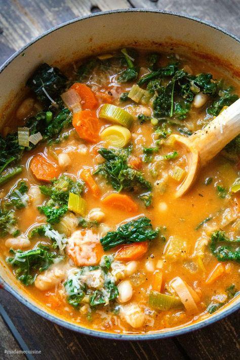 Ribollita: Toskanische Bauernsuppe - Madame Cuisine