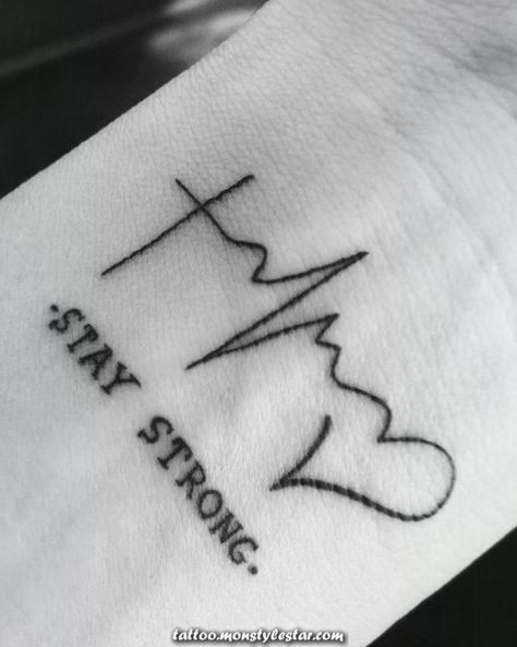 Exceptional heartbeat tattoos to indicate your love  #heartbeat #indicate #tattoos