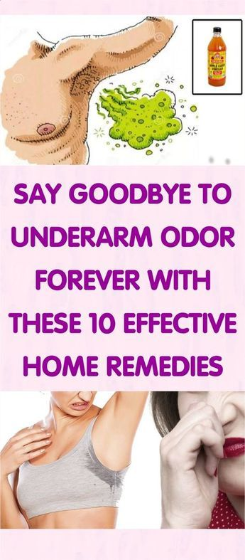 Do you want to get rid of Underarm Odor Forever, Then you