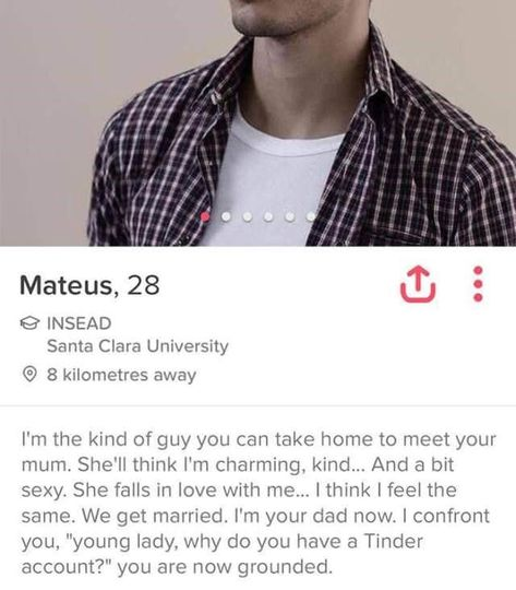 These Tinder Bios Take The Online Dating Game To A Whole New Level