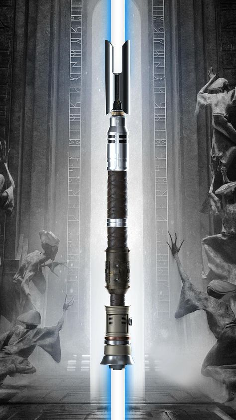 Cal Kestis' Second Lightsaber (Jedi Fallen Order). Combination of Cere Junda & Jara Tapal's Sabers