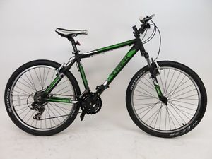 Trek 3500 Mountain Bike Green And Black Bicycling