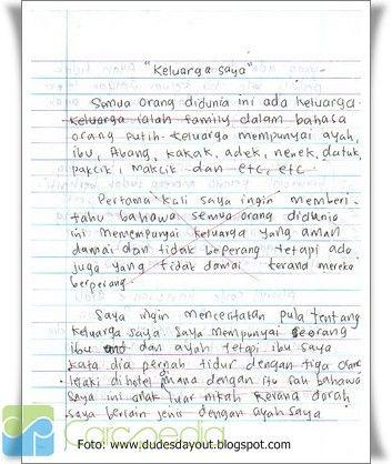 essay lingkungan