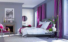 niedrige Decken optisch höher durch umlaufenden Streifen in Wandfarbe http://www.schoener-wohnen.de/einrichten/93875-niedrige-decken.html