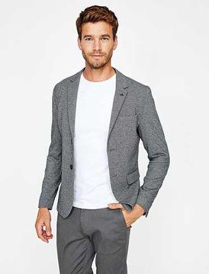Pantolon Ceket Kombinleri Gri Blazer Lacivert Pantolon Beyaz Gomlek Mavi Kravat Pantolon Gomlek Erkek Giyim