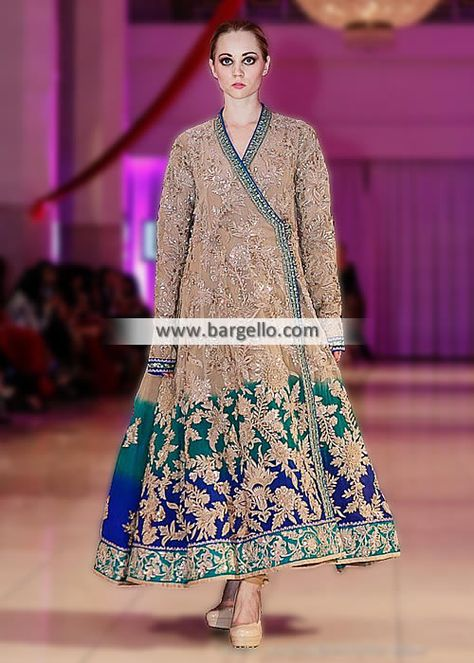 Umar Sayeed Angrakha Suits Evening and Party Suits Surrey UK New Arrivals