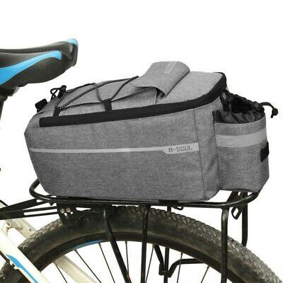 Details About Bike Trunk Bag Cycling Rack Rear Seat Storage