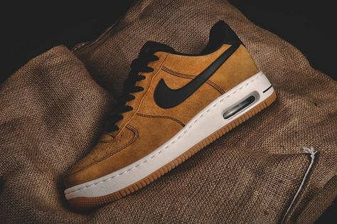 nike air force one elite wheat 1 Nike air Force, Nike air  Nike air force, Nike air