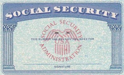 How To Get A Social Security Number In California