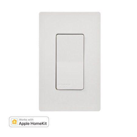 Sylvania Smart Bluetooth In Wall Switch Apple Homekit Compatible Apple Homekit Smart Home Automation Iphone Info